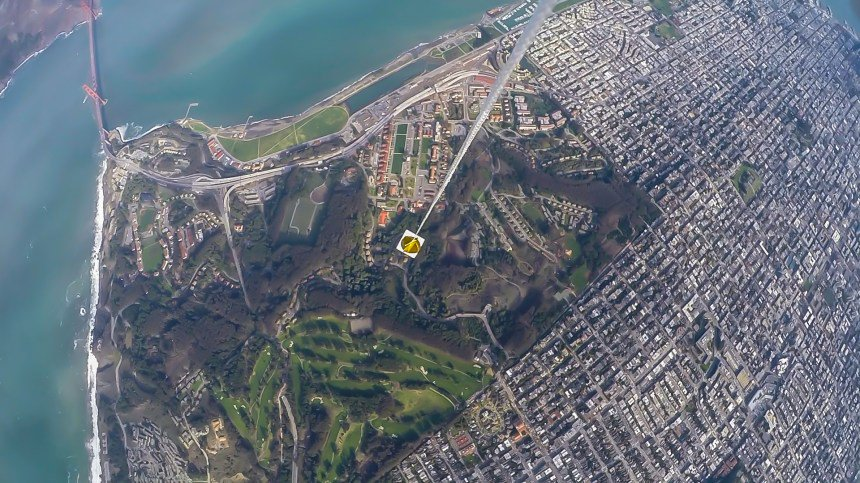 See San Francisco from a new perspective in beautiful weather balloon video