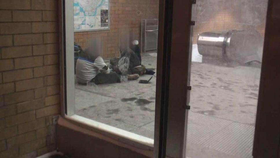 Les sans-abri seront transportés vers des refuges chauds
