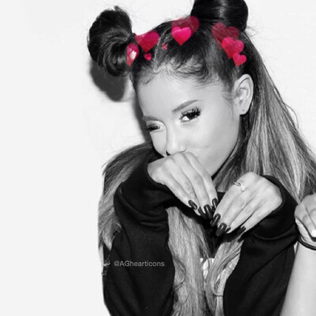 ariana heart icons���� aghearticons twitter