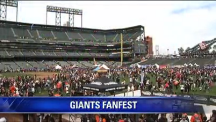 @SFGiants Fanfest starts at 10am at @ATTParkSF