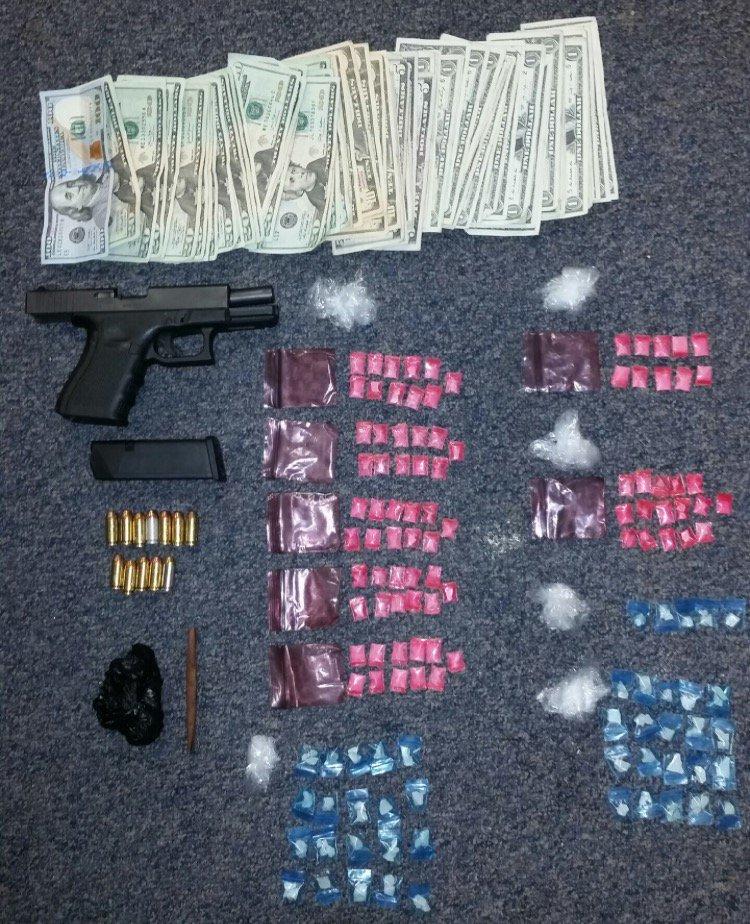 Handgun Arrest.