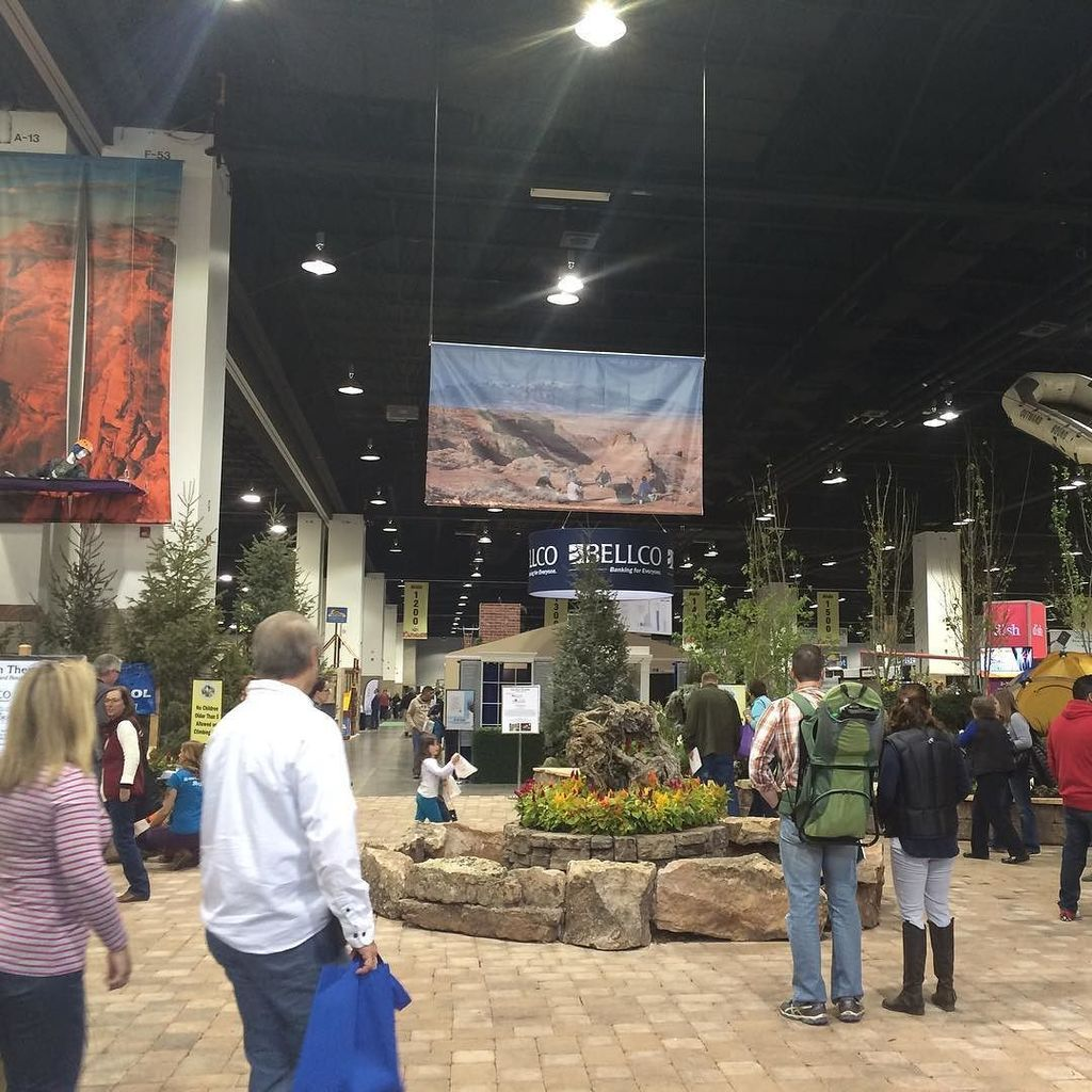 It's the opening day of this year's Colorado Garden and Home Show. garden2016 The show wi…