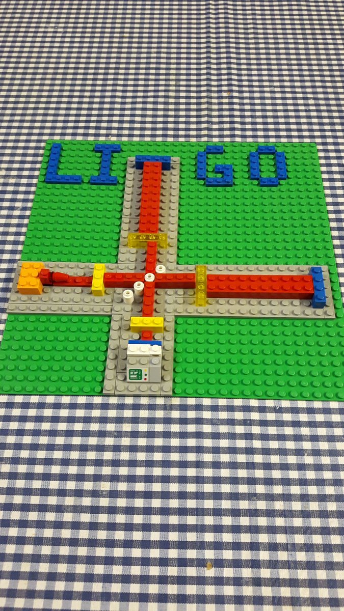 Our gift to the world: LEGO @LIGO (c) Clara (age 3 3/4) and Chris (age 32 5/6) North https://t.co/9Kp50UzoFk