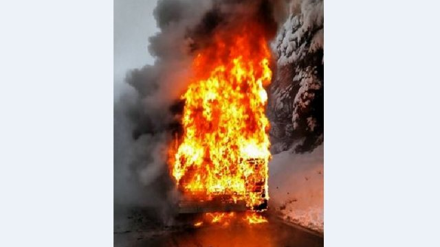 A bus carrying kids from Bellingham area caught fire along MountBaker Highway.INFO >>