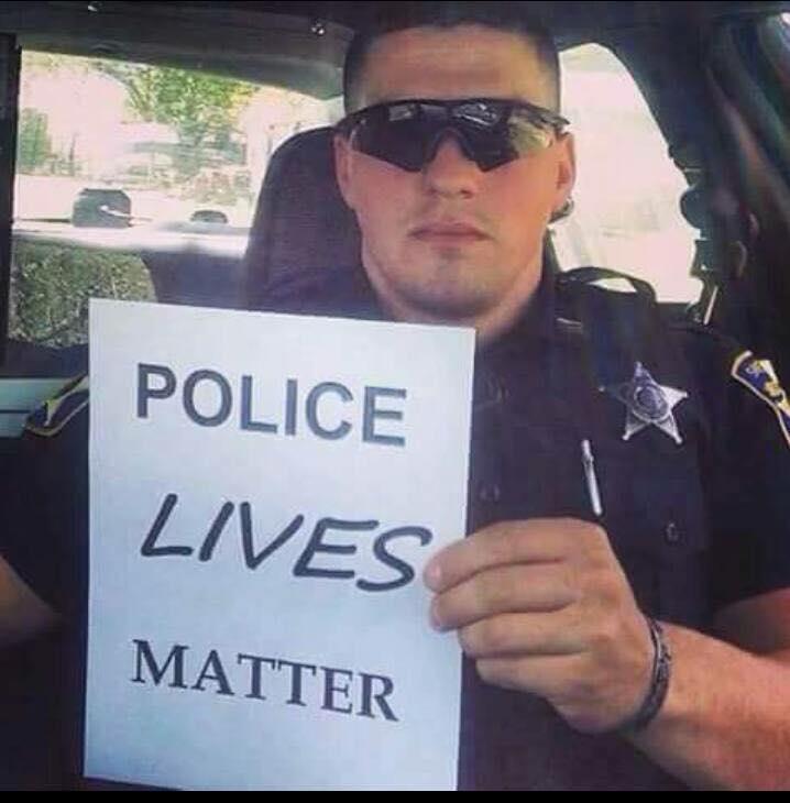 #policelivesmatter