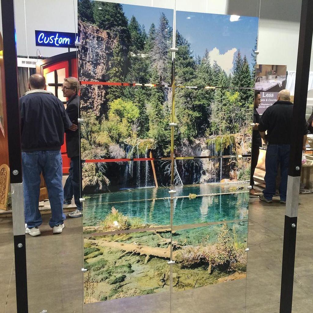 Component Concepts displays photos on metal, slate, glass, ceramic etc. The process invol…