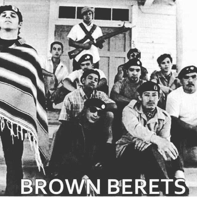 #brownberets #blackandbrownunity to save our communities https://t.co/byVRSrglCg