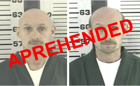 NEWS: 2 wanted men captured this morning. Nationwide search continues for Dennis Simonton.