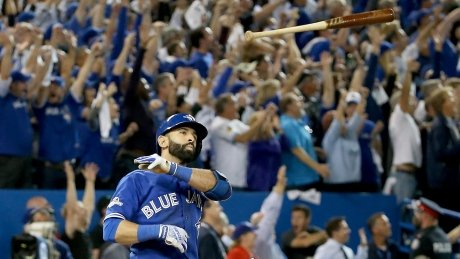 Jose Bautista says he hasn't paid for food or drinks since bat flip