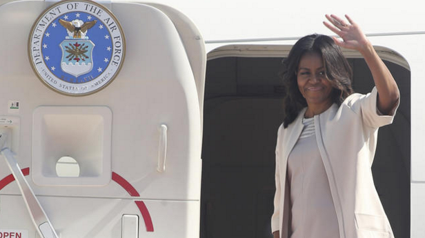Michelle Obama plans to carry on mission of girls' education after White House exit