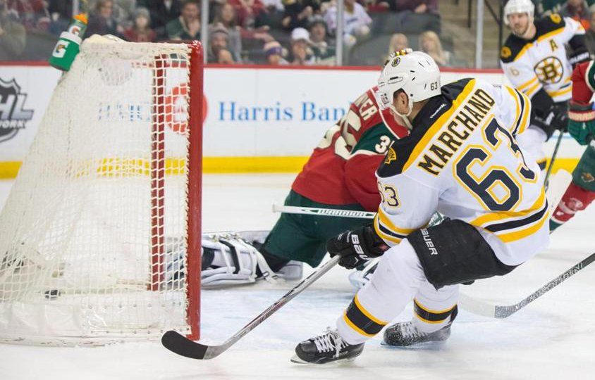 Bruins knock off Wild, 4-2, for second straight road win
