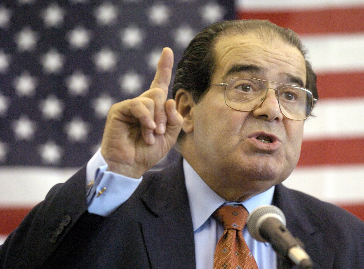 Supreme Court Justice Antonin Scalia is dead at 79, U.S. Marshall's Service confirms
