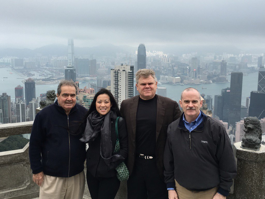 RIP my dear friend Nino. He was a loyal friend, a fierce intellect & a defender of democracy. Last wk in Hong Kong. https://t.co/QuxgL0HQ63