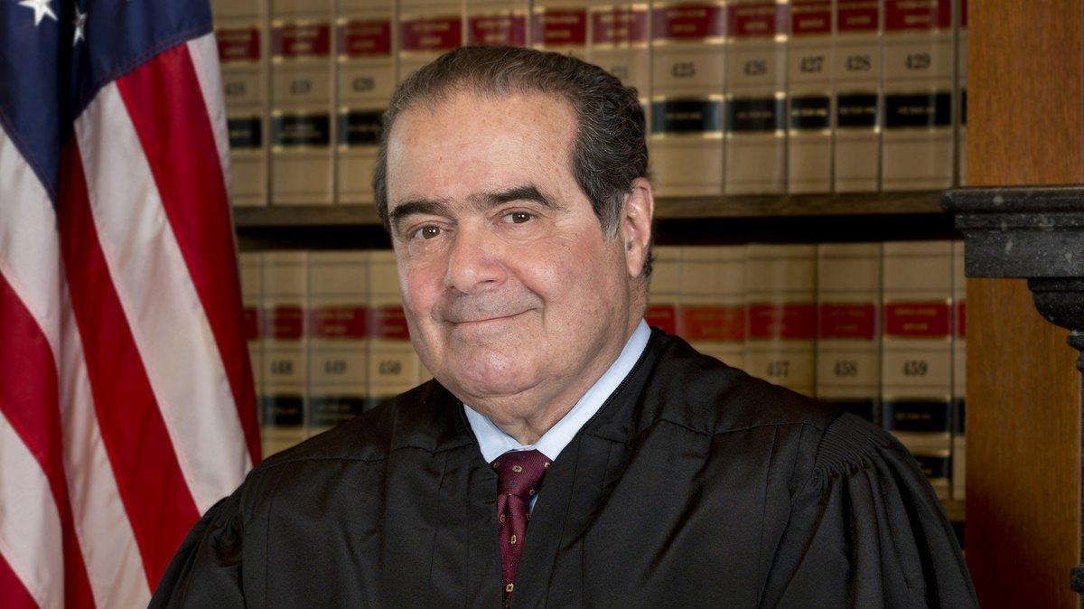 Supreme Court Justice Antonin  Scalia dead
