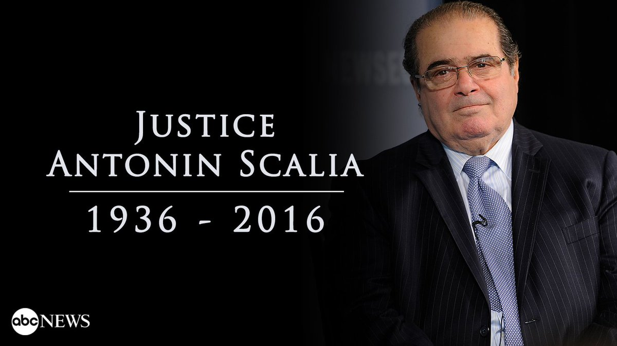 Leftists dance on the grave of Justice Scalia