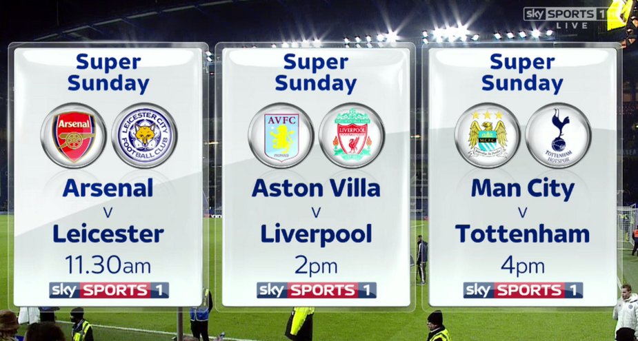 RT @SkySports: What a #SuperSunday we have in store for you tomorrow. Don't miss it with us!  Sign up: https://t.co/agH1yQeJHQ https://t.co…