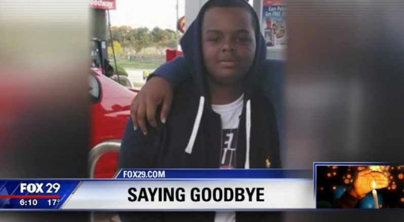 Loved ones gather for funeral held for boy who died trying to rescue father from fire