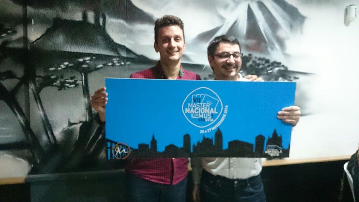 Cristian Maldonado Prada y Rubén Cebreiros Fernández, Campeones del II Torneo de Mus As Meniñas