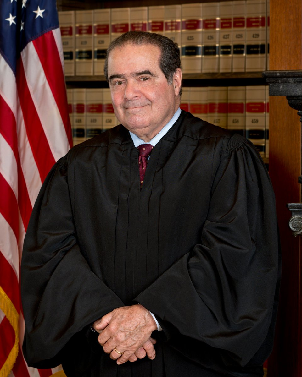 Eternal rest grant unto Antonin Scalia, O Lord, and let perpetual light shine upon him. May he rest in peace. Amen. https://t.co/IxEkbT77wF