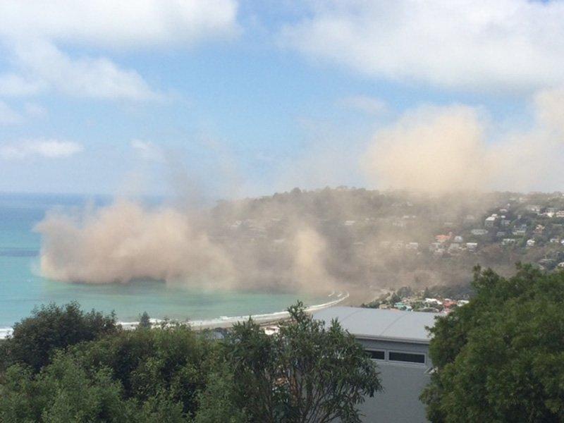 Le incredibili immagini del Terremoto di Oggi a Christchurch (Nuova Zelanda)
