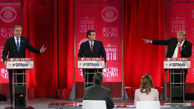 Civil court discussion gives way to shouting matches during GOPDebate