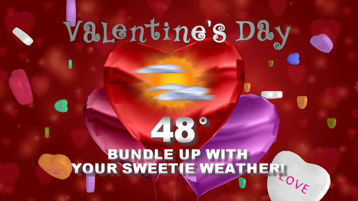 warming up for tonight meme valentines day - Bundle Up Tonight and Valentine's Day… COLD Air will