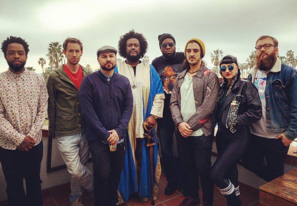 So this happened today (version 2) @terracemartin @KamasiW @robertglasper @HiatusKaiyote https://t.co/xIv7UuoOZ3