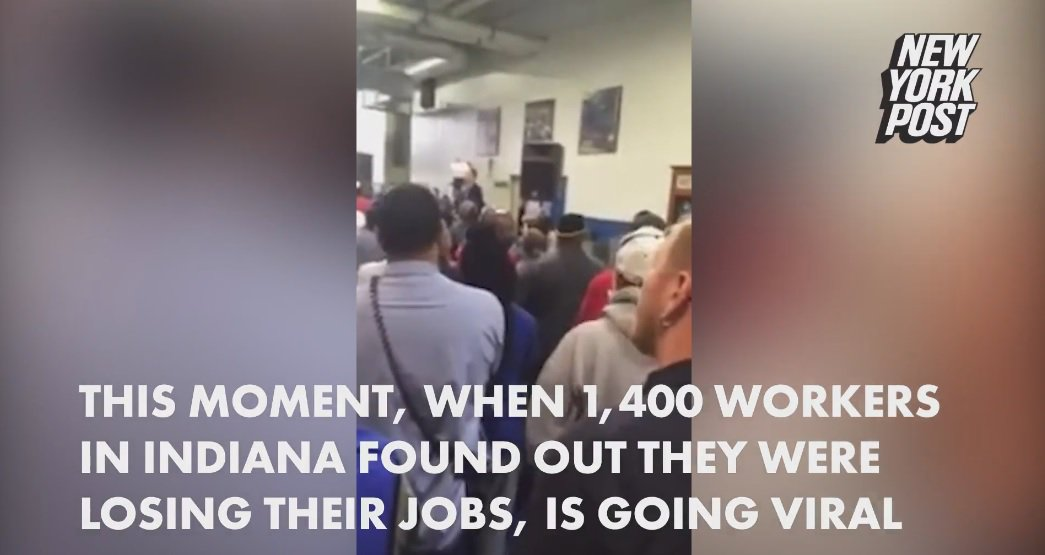 Watch the stomach-turning moment 1,400 Carrier Corp. workers lost their jobs GOPDebate