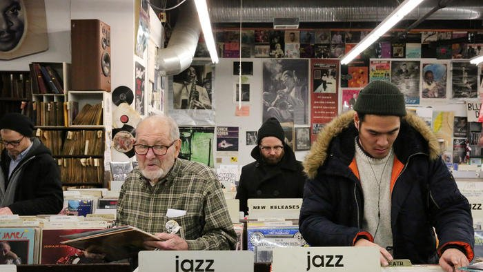 Customers fill world-famous Jazz Record Mart for what could be store's last weekend