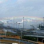 羽田空港で撮られた奇跡の一枚が美しすぎると話題に!