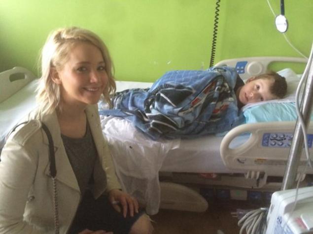 JLaw donates $2M to Kentucky children's hospital