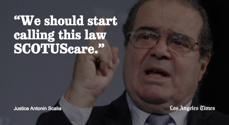 The most memorable comments from Justice Antonin Scalia, known for his wit and biting tongue