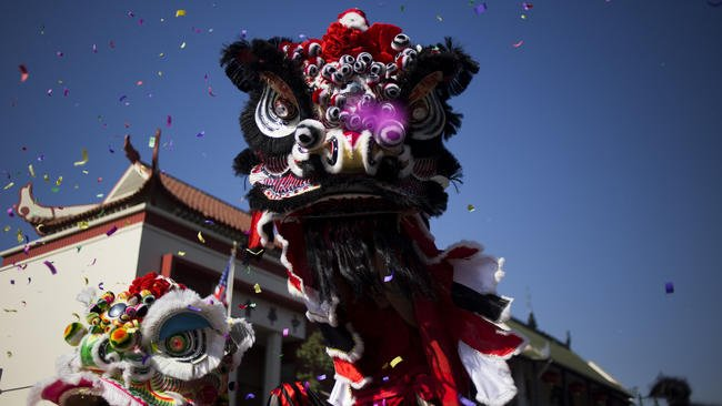 Who caught today's Golden Dragon Parade in L.A.? Chinatown celebrates LunarNewYear