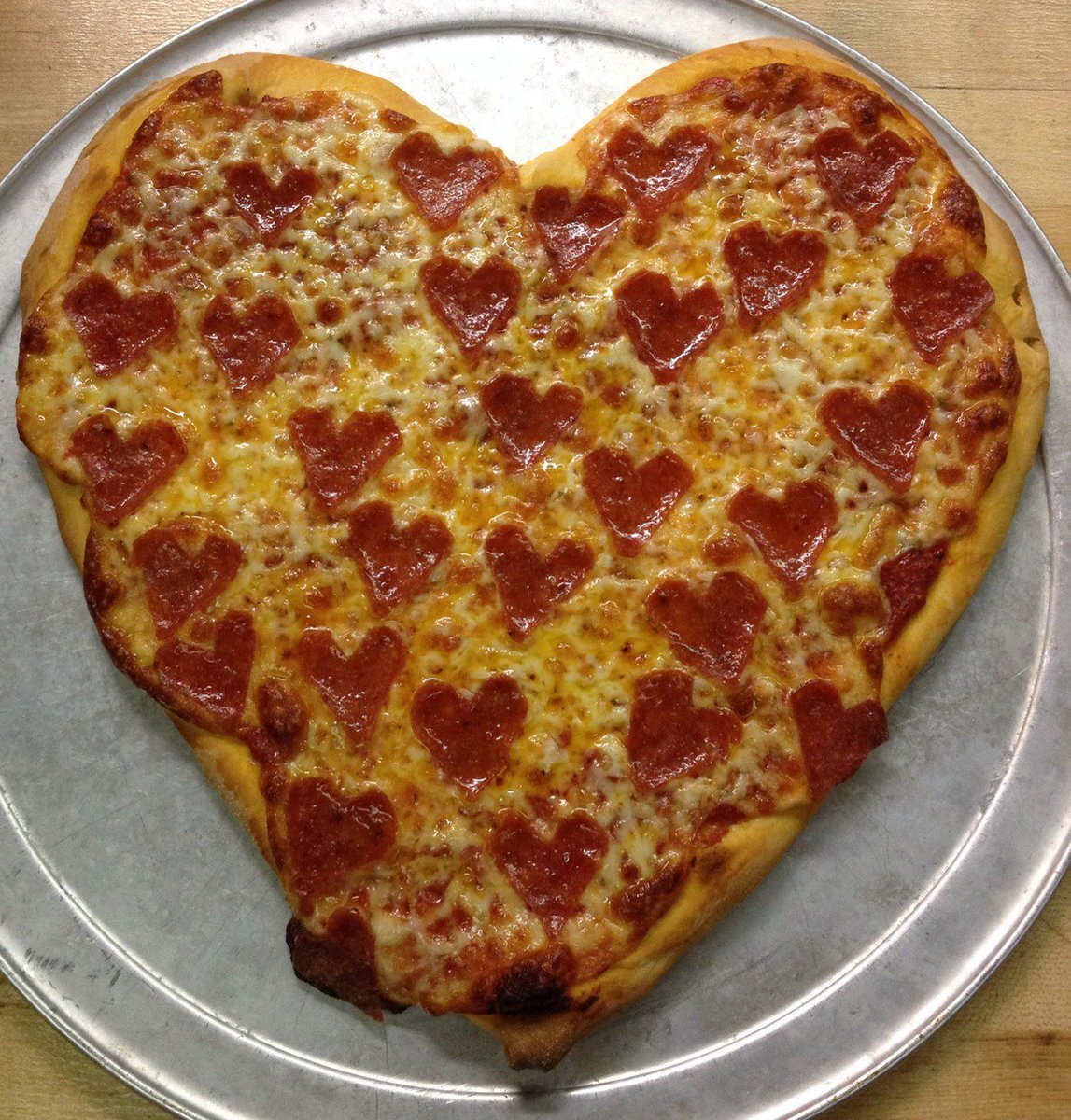 Pizza is my Valentine.