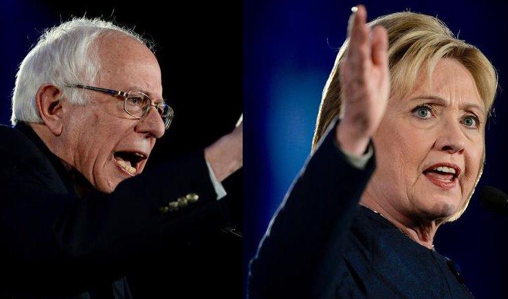 Democrats in Denver: Sanders blasts inequality; Clinton laments gun violence copolitics