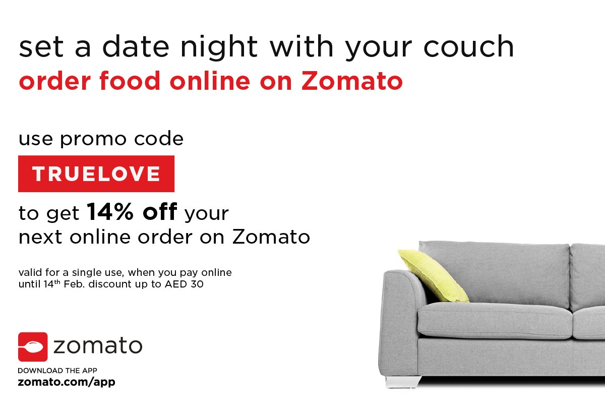 Zomato UAE On Twitter Single Or Taken This ValentinesDay Either Way Order Food Online Get 14 OFF