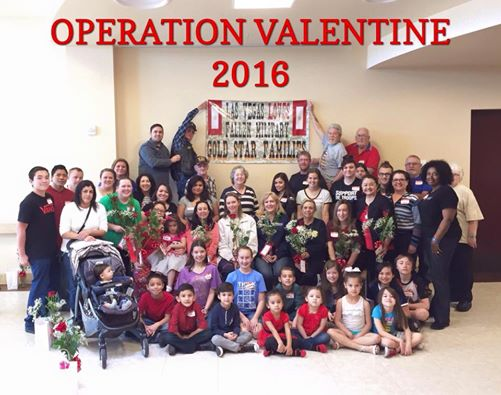 Operation Valentine gives support to local fallen military families