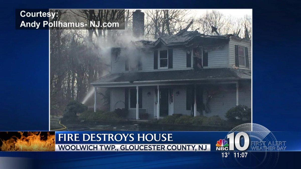 Fire destroys NJ home