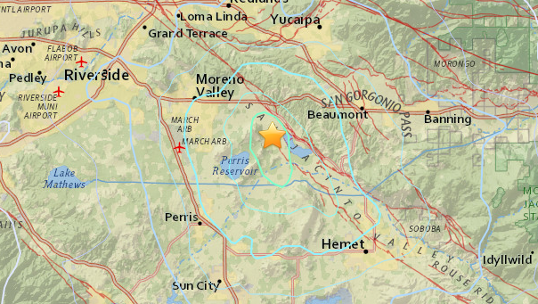 A M3.5 quake rattled the Inland Empire early Sunday morning. Did you feel it?
