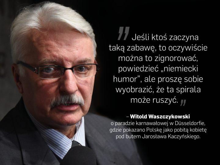 Newsweek Polska On Twitter Grożący Niemcom Waszczykowski