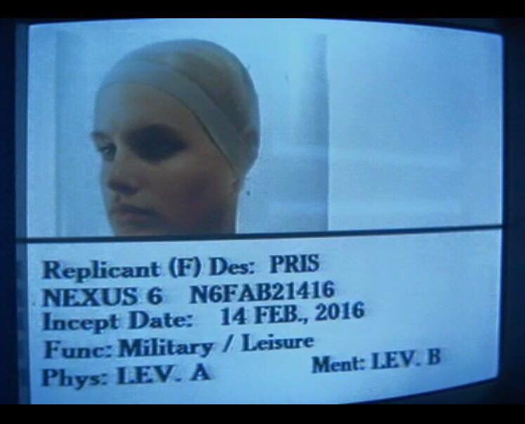 today, we welcome Pris to our branch of the multiverse. #bladerunner https://t.co/m6BMtRJtre