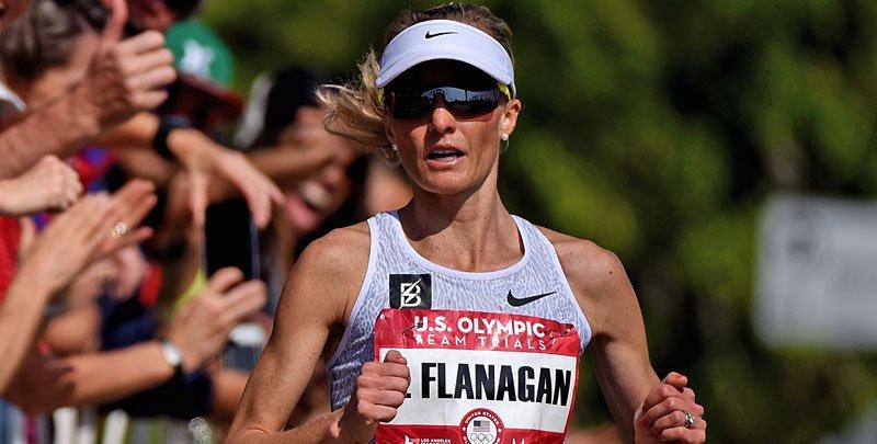 Marblehead's Shalane Flanagan earns spot on US Olympic Team.