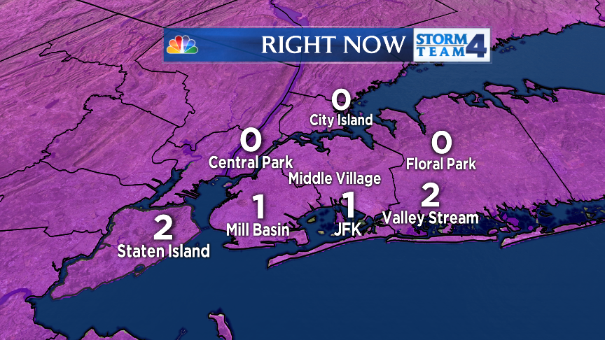 This is now THE COLDEST DAY IN #NYC SINCE 1994. We have gone as low as 1 degree below zero so far.... https://t.co/EHQrQbsaAR