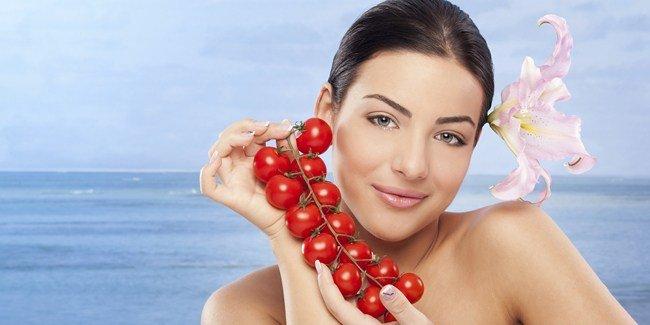 Tips Cara Mudah Menghilangkan Jerawat Dengan Buah Tomat Tanpa Efek Samping - AnekaNews.net
