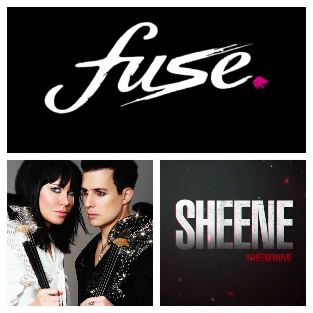 Excited! @FUSEband original #soundtrack 4 new #sheenemovie !#electricviolin & @LinziStoppard https://t.co/Bep6fhr4qb https://t.co/ShLykplTZM