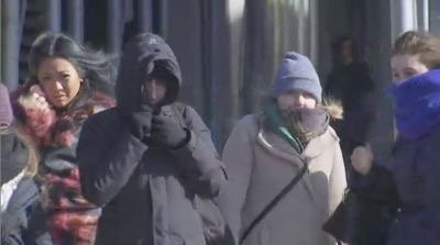 NYC is experiencing the coldest Valentine's Day in a century, -1 degrees in Central Park