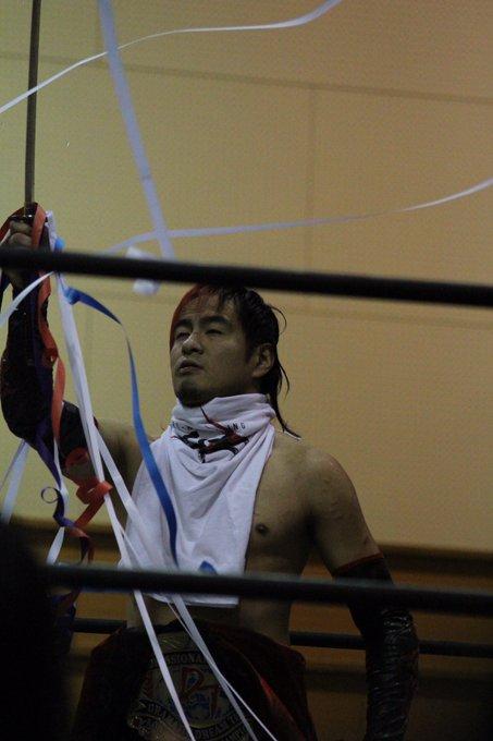 パンディーノの写真による2016.2.14 DDT名古屋大会〜レスリング桶狭間2016〜(ノΘェΘ)ノ