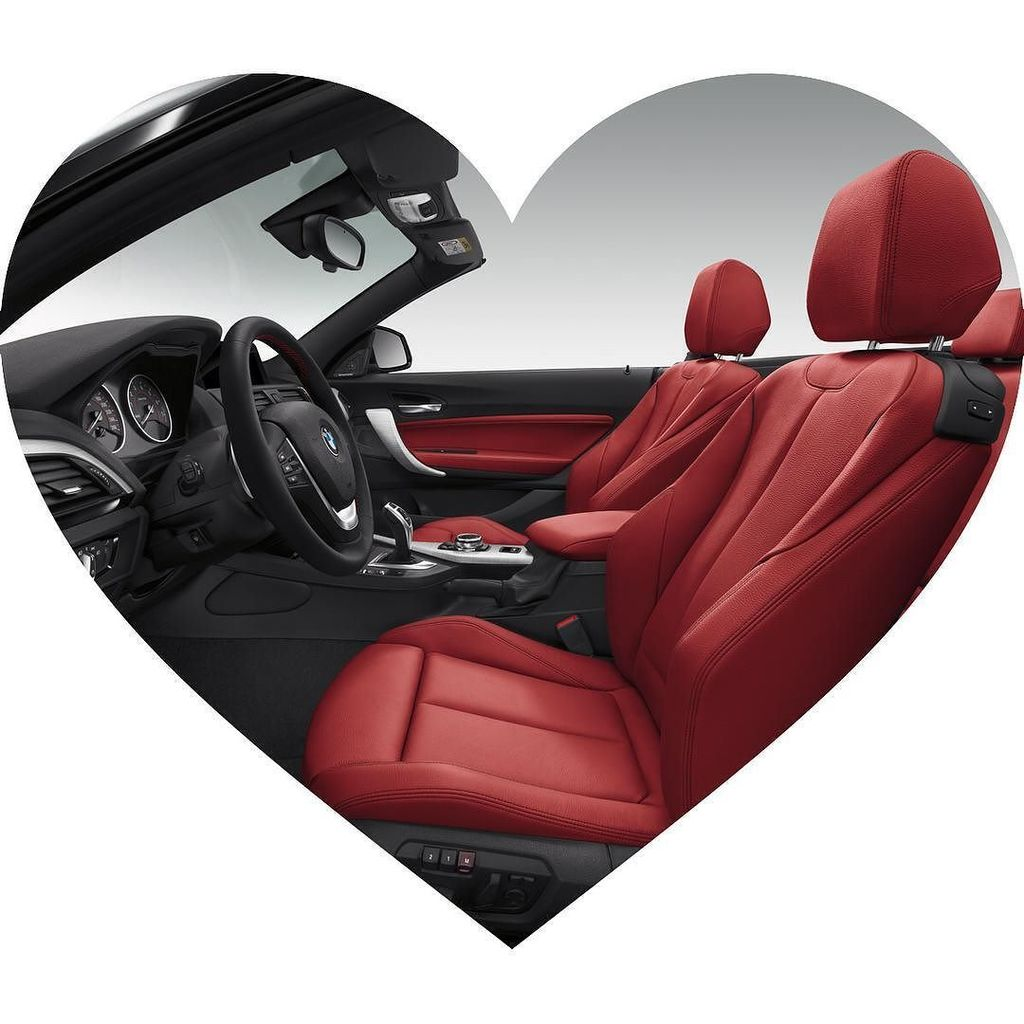 These seats are made for lovers. Ask #BeMyWalentine by tagging your crush in the  comments. #BMW #ValentinesDay de …