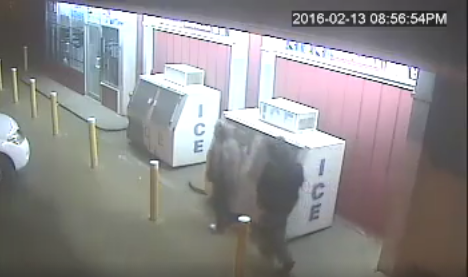 Footage was released of two possible suspects in the Clarksdale officer shooting.