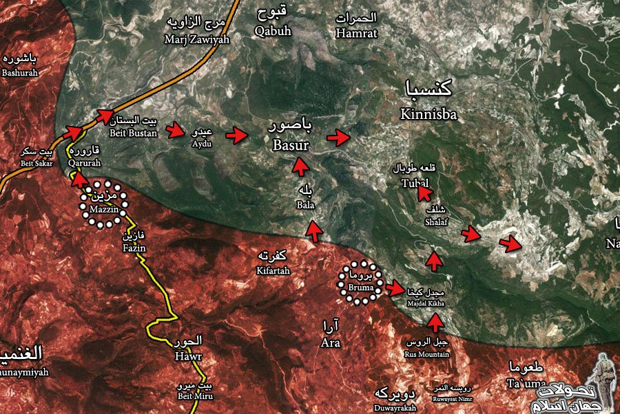 Syrian Civil War: News #6 - Page 19 CbLkJGnWIAIk0Ob